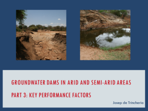Part 3 Lecture Groundwater Dams