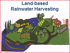 Land-based Rainwater Harvesting
