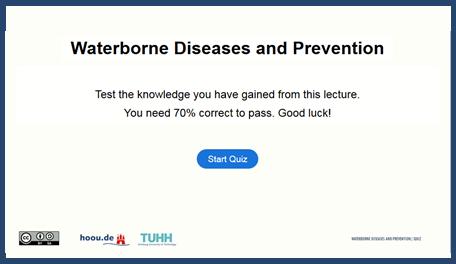 waterborne diseases quiz