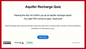 Aquifer Recharge Quiz