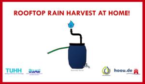 DIY Rooftop Rainwater Harvesting