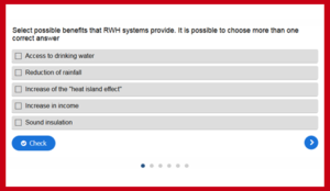 Rainwater Harvesting Quiz
