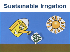 Sustainable Irrigation