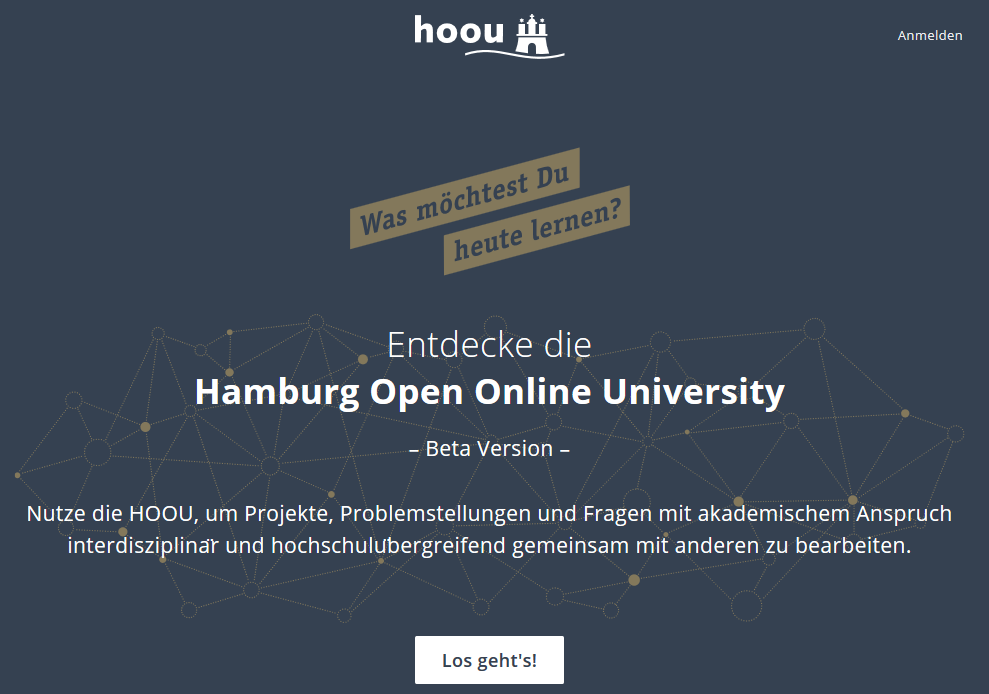 HOOU Start Page