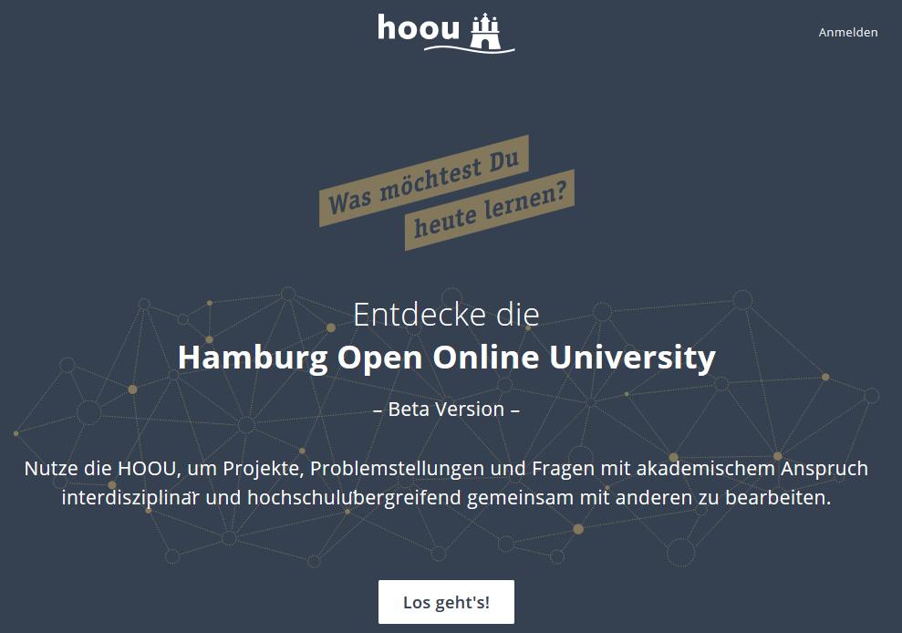 HOOU Start Page