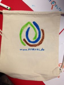 Long Night of the Sciences - RUVIVAL bag designed by a visitor