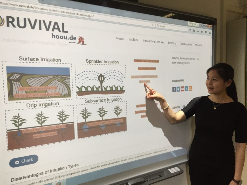 RUVIVAL Toolbox Elements Presentation