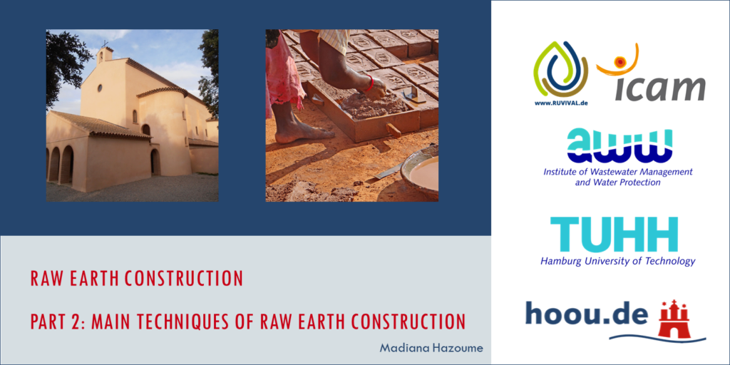 Part 2 Lecture Raw Earth Construction