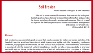 Literature Review Soil Erosion