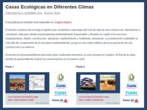 Casas ecologicas vista general